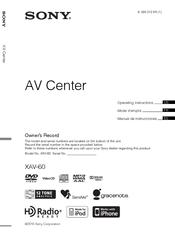 sony xav 60 6 1 inch avc manuals rh manualslib com