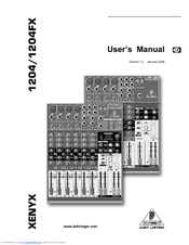 behringer xenyx 802 manual pdf