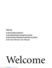 BENQ E2200WA WINDOWS 7 DRIVER
