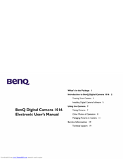 BENQ DC 1016 DRIVERS UPDATE