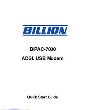 BILLION BIPAC 7000 DRIVERS FOR MAC