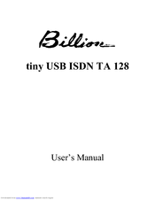 BILLION ISDN TA128 WINDOWS 8 DRIVERS DOWNLOAD