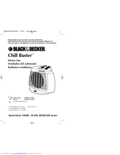 Black & Decker Chill Buster 301HF Series Use And Care Book Manual