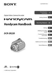 sony handycam dcr sr220 manuals rh manualslib com sony handycam dcr-sr220 manual sony handycam dcr-sr220 manual