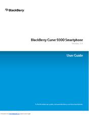 Blackberry curve 9300 user manual pdf download.