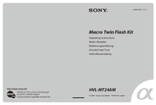 Sony Alpha HVL-MT24AM Operating Instructions Manual