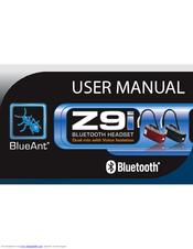 blueant z9i manuals rh manualslib com Example User Guide User Guide Cover