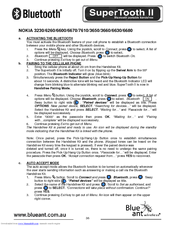 blueant supertooth ii manuals rh manualslib com blueant supertooth 2 manual blueant supertooth pairing