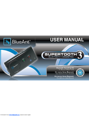 blueant supertooth 3 manuals rh manualslib com blueant s3 bluetooth manual blueant st3 manual