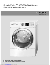Bosch Vision 300 Series Dlx Wtvc4500 Operating And Installation. Bosch Vision 300 Series Dlx Wtvc4500 Operating And Installation Instructions Pdf Download. Wiring. Bosch Dryer Wiring Diagram Wtvc4300us At Scoala.co