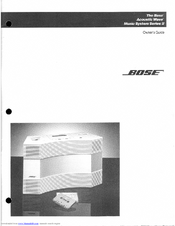 System Troubleshooting: Bose Wave Music System Troubleshooting