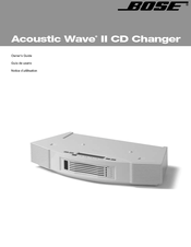 bose acoustic wave music system ii manuals rh manualslib com bose acoustic wave 2 manual bose acoustic wave 2 manual