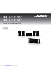 bose lifestyle v30 owner s manual pdf download rh manualslib com bose lifestyle v30 installation guide Bose Lifestyle 48 Home Theater System