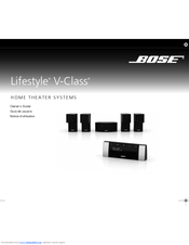bose lifestyle v20 manuals rh manualslib com Bose Lifestyle Surround Sound bose lifestyle 20 user manual