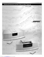 bose wave radio cd manuals rh manualslib com bose wave radio cd instruction manual bose wave radio cd repair manual