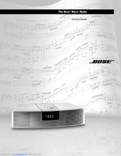 bose wave music system manuals rh manualslib com bose wave radio awrcc1 owners manual bose wave radio awrcc1 owners manual