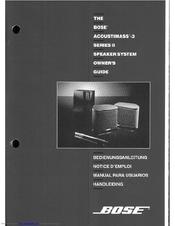 bose acoustimass 3 series ii owner s manual pdf download rh manualslib com bose acoustimass 3 series ii service manual bose powered acoustimass 3 series ii service manual