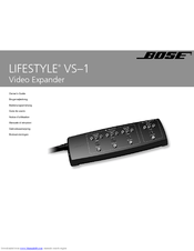 bose lifestyle vs 1 manuals rh manualslib com Bose Home Theater System 5.1 Bose Speakers System