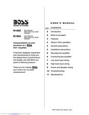 boss audio systems r1004 manuals rh manualslib com boss gt1b user manual boss ms 3 user manual