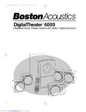 boston acoustics dt6000 user manual pdf download rh manualslib com