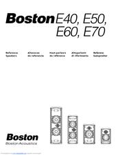 boston acoustics e70 manuals rh manualslib com Boston Acoustics Clock Radio Boston Acoustics TV 20