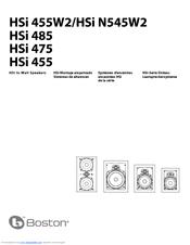 boston acoustics hsi 475 manuals rh manualslib com Boston Acoustics Clock Radio Boston Acoustics TV 20