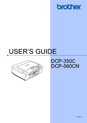 BROTHER DCP-560CN DRIVER PC