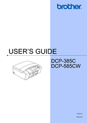Brother DCP-585CW User Manual