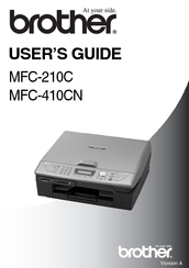 brother mfc 210c user manual pdf download rh manualslib com Brother MFC-420CN USB Brother MFC 420CN Problems