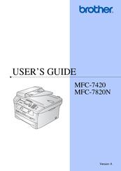 Mfc 7420 Manual