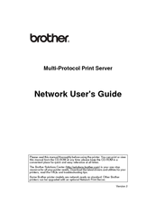 Brother 5170DNLT - B/W Laser Printer Network User's Manual