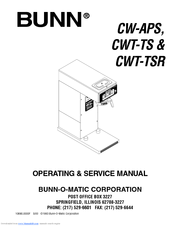 bunn cw aps operating \u0026 service manual pdf download Circuit Diagram