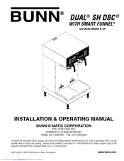 Bunn Coffee Maker Dual Sh Instructions : Bunn Dual SH BrewWISE DBC Manuals