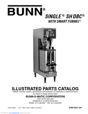 Bunn Dual Coffee Maker Manual : Bunn Dual SH BrewWISE DBC Manuals