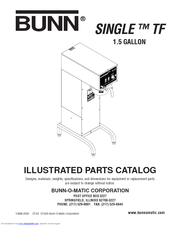 Bunn Dual Coffee Maker Manual : Bunn TF SERVER Manuals