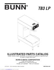 bunn tb3 lp manuals. Black Bedroom Furniture Sets. Home Design Ideas