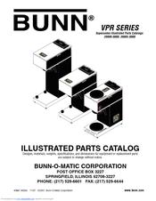 219793 vpr product Bunn Vpr Series Coffee Maker
