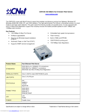 Driver for CNet CNP410S