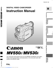 CANON MV530I DRIVER FOR WINDOWS 7