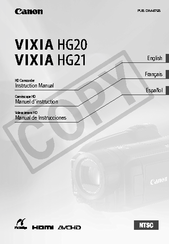 canon hd vixia hg21 manual