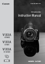 canon vixia hf m41 instruction manual pdf download rh manualslib com Canon VIXIA HF S30 Canon Vixia Mini