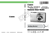 Download free pdf for canon ixus 85 is digital camera manual.
