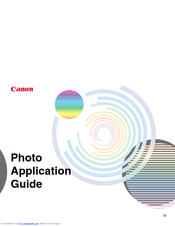 Canon BJC-S330 Application Manual