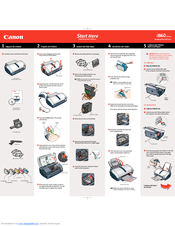 canon i860 series manuals rh manualslib com Canon I860 Ink Cartridges canon i860 service manual