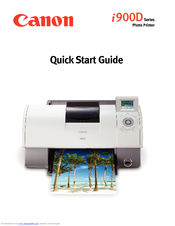 Canon i900D Series Quick Start Manual