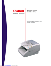 canon cd 4070nw digital scanner service manual