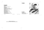 Canon 8461A062 Operator's Manual