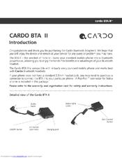 cardo systems bta ii manuals rh manualslib com cardo scala rider g9x user manual cardo scala rider user manual