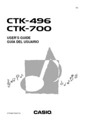 casio keyboard manual free download