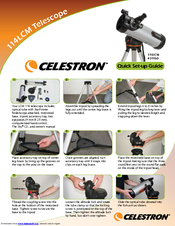 celestron powerseeker 114az instructions